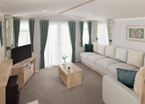 2 Bed Platinum Plus Caravan at Sandaway Beach Holiday Park, Ilfracombe
