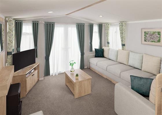 3 Bed Platinum Plus Caravan at Sandaway Beach Holiday Park, Ilfracombe