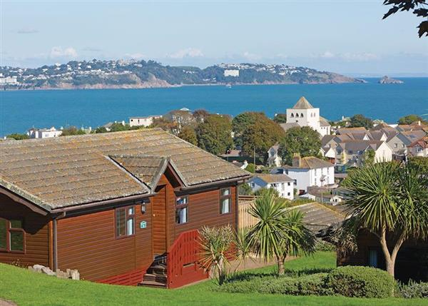 Beverley View in Paignton, Devon, are holiday lodges sleeping up to 6, some with a private hot tub
