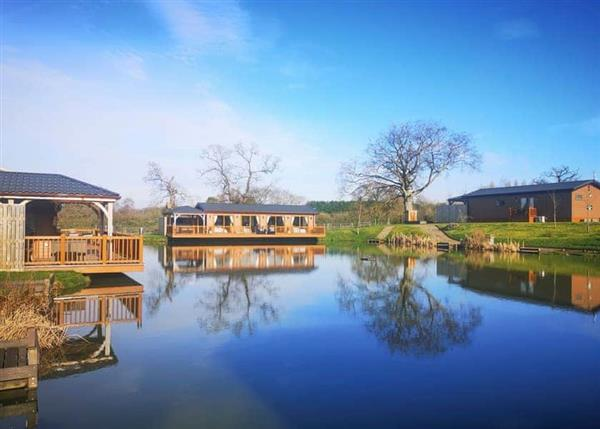 Caistor Lakes Lodges in Lincolnshire