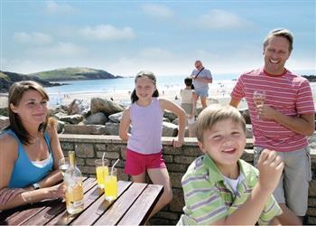 Family Fun Challaborough Bay, Devon