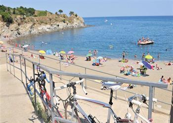 Criques de Porteils campsite - Collioure, Languedoc & Roussillon, France
