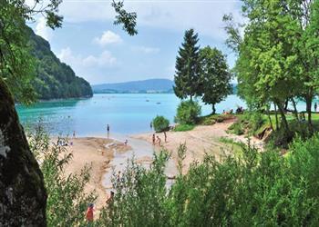Domaine de Chalain campsite - Lac de Chalain, Jura, France