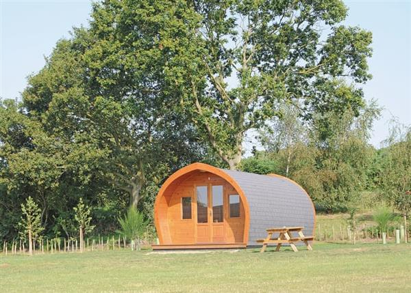 Relax and Explore Heathside Pods, Suffolk