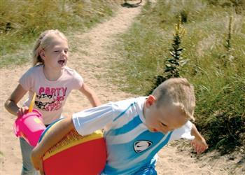 Family Fun Kessingland Beach, Suffolk