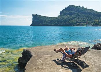 La Rocca Campsite - Del Garda, Lake Garda, Italy