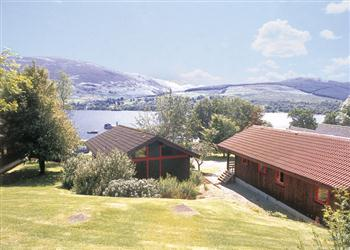 Lodge Escape Lochearnhead Loch Side, Perthshire