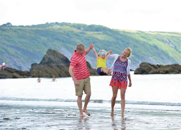 Family Fun Plus Looe Bay, Cornwall