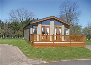 Paradise Spa Lodge at Ranksborough Hall Lodges in Oakham , Leicestershire