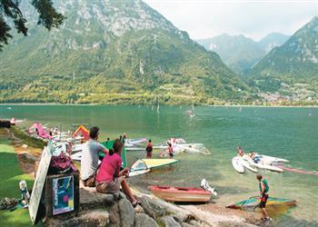 Rio Vantone Campsite - Lake Idro, Lake Garda, Italy