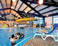 Relax in the swimming pool at Seahorse; Bridport