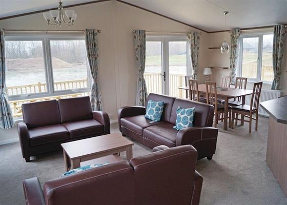 Alder 3 VIP at Woodland Lakes Lodges, Thirsk