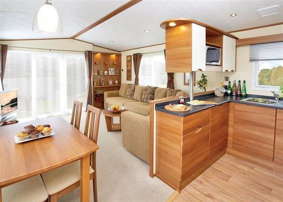 Argyll Caravan 3 at Loch Lomond Holiday Park, Arrochar