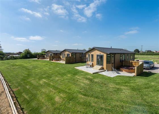 Ash Lodge at New Oaks Farm Lodges, Somerton