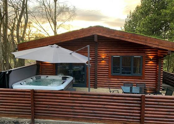 Aspen Log Lodge at Beech Hedge, Perth