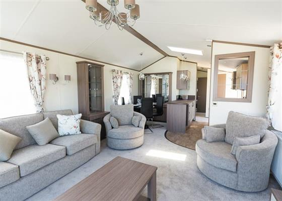 Atlas Caravan at Fishguard Bay Resort, Newport