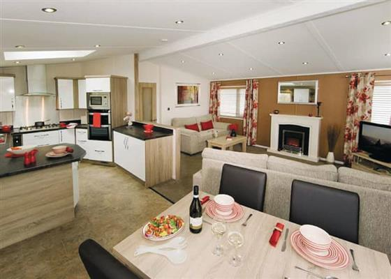 Aviemore Lodge at Whitecairn Holiday Park, Newton Stewart