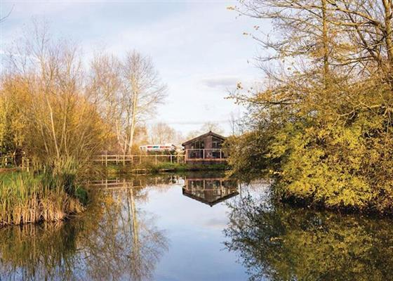 Avocet Lodge VIP at Fairwood Lakes Holiday Park, Westbury
