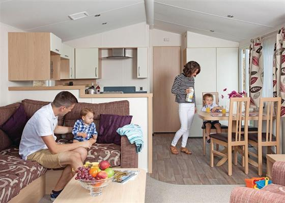 Avonmore at Porth Beach Holiday Park, Newquay
