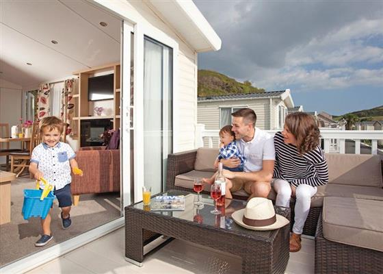 Avonmore Plus at Porth Beach Holiday Park, Newquay