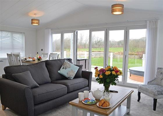 Beech Lodge at Florence Springs Lakeside Lodges, Tenby
