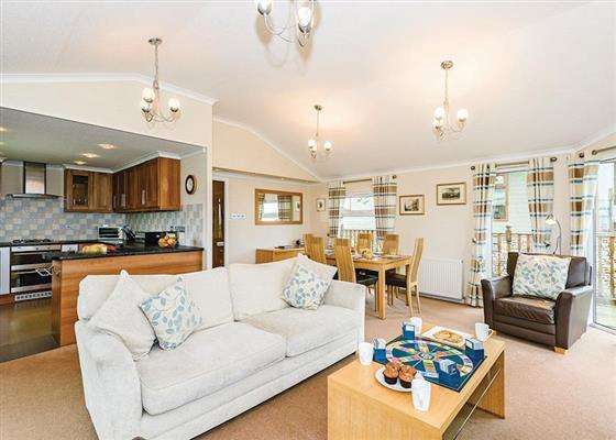 Blencathra Premium 3 at Thanet Well Lodges, Penrith