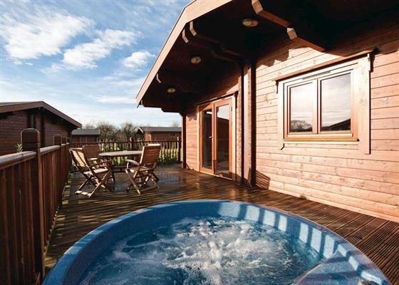 Blyth Lodge at Heathside Lodges, Halesworth