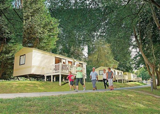 Boardwalk Lodge at Lower Hyde, Shanklin