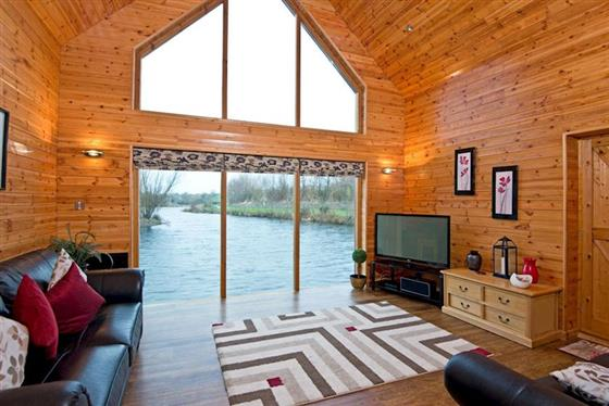 Boathouse at Anglesey Lakeside Lodges, Menai Bridge