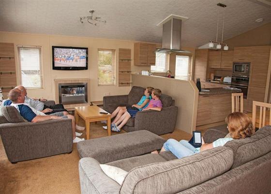Brean Platinum Plus Lodge at Holiday Resort Unity, Burnham-on-Sea