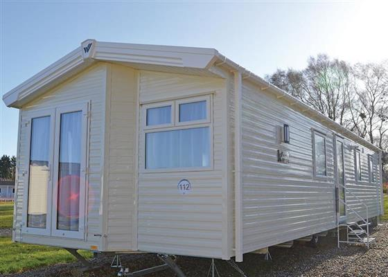 Broadlands Caravan at Broadlands Park and Marina, Lowestoft