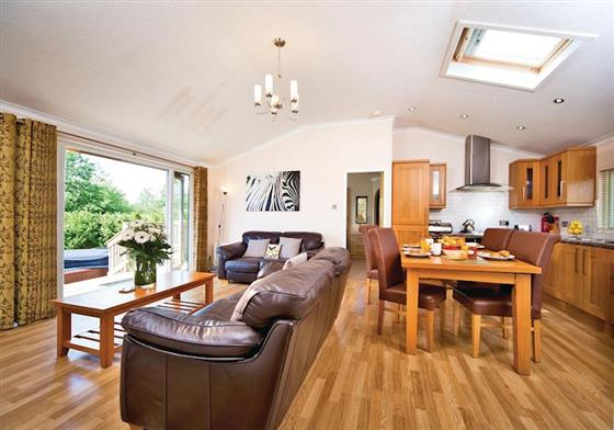 Bronte Lodge at Ribblesdale Lodges, Clitheroe