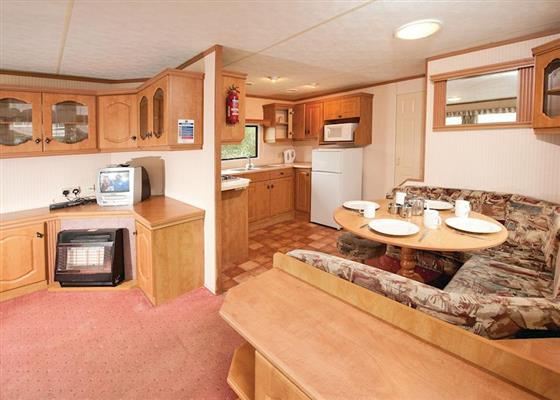 Budget Caravan 2 at Widemouth Bay Caravan Park, Bude