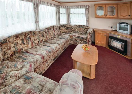 Budget Caravan 3 at Widemouth Bay Caravan Park, Bude