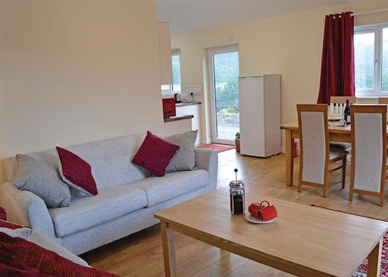 Buzzard Lodge at Valley View Retreats, Llanidloes