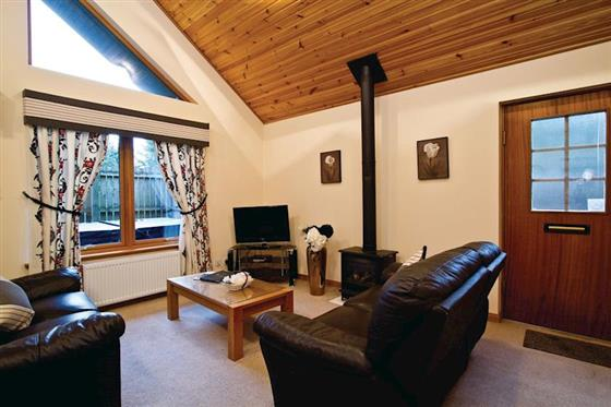 Byron Lodge at Piperdam Lodges, Dundee