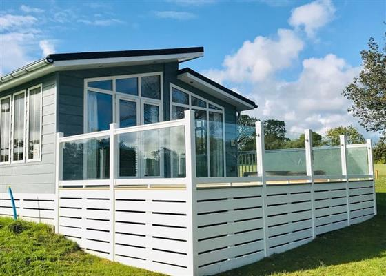 Camellia Lodge at Florence Springs Lakeside Lodges, Tenby