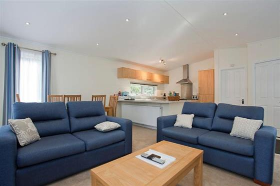 Canford Premier Lodge 3 at Merley Woodland Lodges, Broadstone