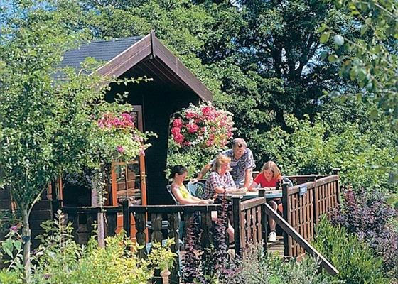 Celyn Lodge at Belan Bach Lodges, Welshpool