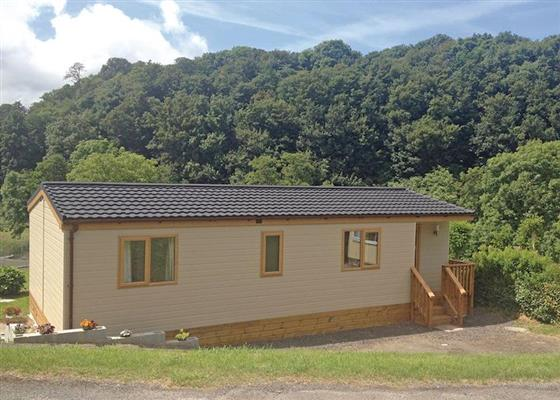 Chalet Park Lodge at Llwyngwair Manor Holiday Park, Newport