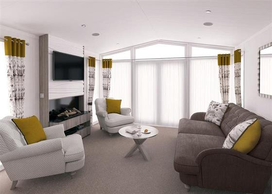 Champagne Lodge at Willow Pastures Country Park, Hull