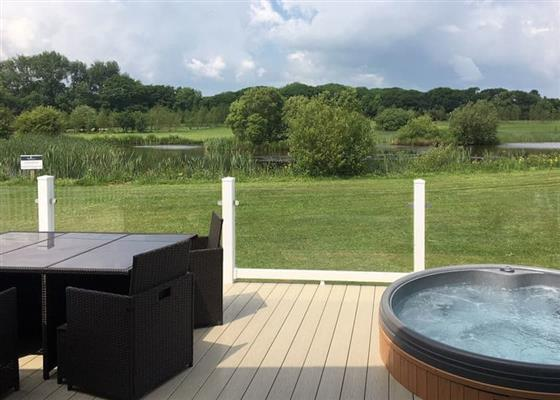 Chestnut Lodge at Florence Springs Lakeside Lodges, Tenby