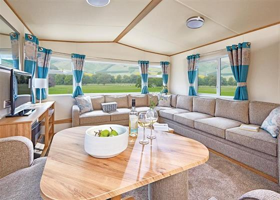 Cheviot Deluxe Caravan at Forget Me Not Country Park, Morpeth