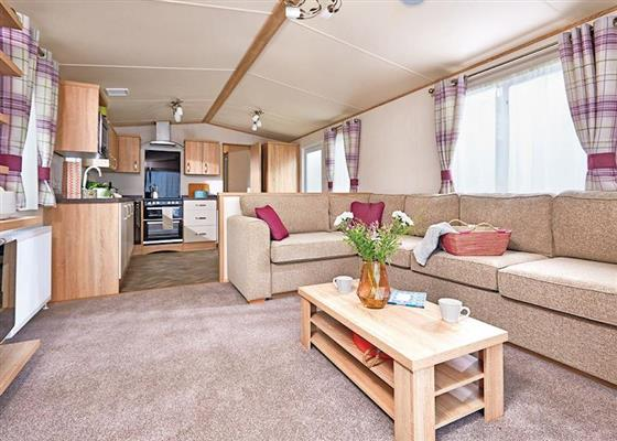 Cheviot Prestige Caravan at Forget Me Not Country Park, Morpeth