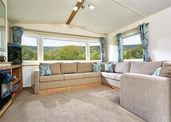 Cheviot Standard Caravan at Forget Me Not Country Park, Morpeth
