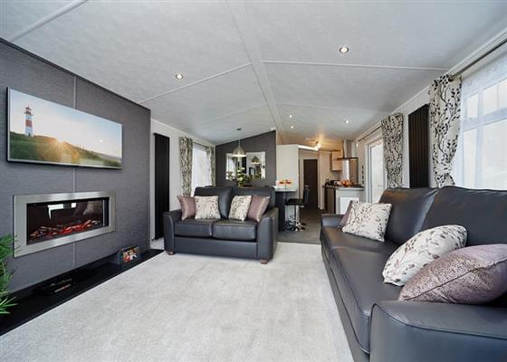 Classic Holiday Home (Newest) at Praa Sands Holiday Park, Penzance