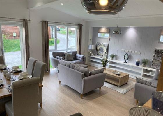 Classic Lodge (Newest) at Praa Sands Holiday Park, Penzance