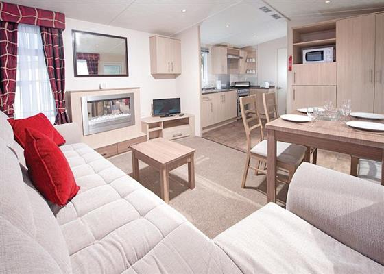 CM 2 Bed Gold Caravan (Sat) at Combe Martin Beach, Ilfracombe