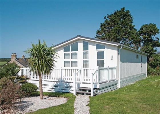 Coastal Lodge Six VIP Platinum at Praa Sands Holiday Park, Penzance