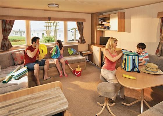 Combe Deluxe 3 (Pet) at Combe Haven Holiday Park, Saint Leonards-on-sea
